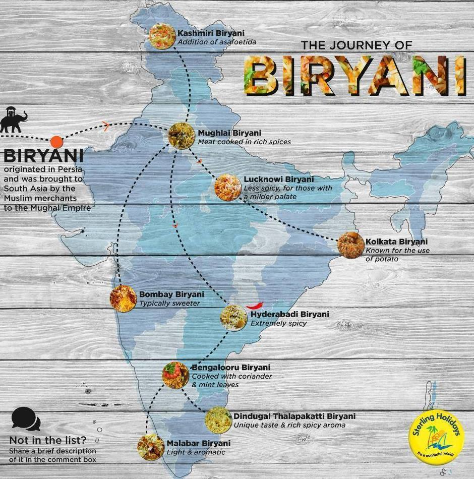 Zappfreshcom On Twitter Biryani Has Been There Done That - Been there map