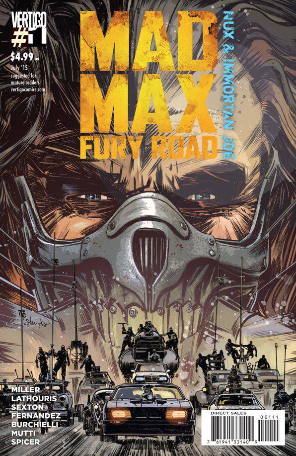 『マッドマックス 怒りのデス・ロード』に出てくる幻の少女の謎はどうやらコミック版で明かされるよう(マックスの子供は男です) 日本でも出るかな~  #マッドマックスやばい