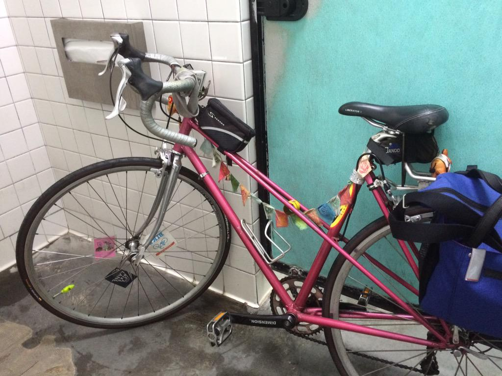 pls RT: #stolenbike - pink mixte road bike taken off w/b @metrolosangeles 720 rack 5th and san pedro in #skidrow http://t.co/0SIkMIZifN