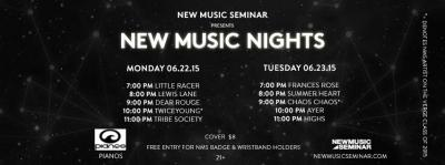 Tonight!  @NewMusicSeminar presents @LittleRacerBand, @itslewislane, @DearRouge, @Twiceyoung & @tribesociety: http://t.co/VFpXj9W8Uh