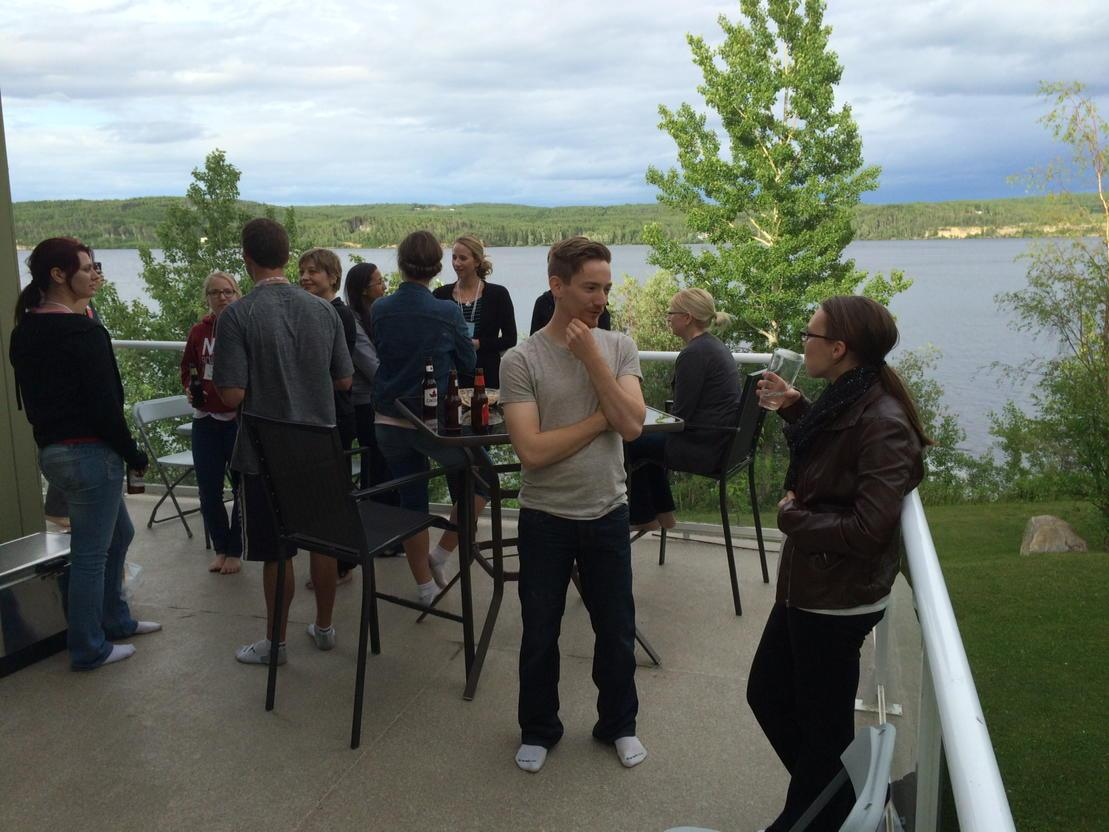 Great memories of socializing at the Gentles property on #CharlieLake at the start of #BCHCRS15 @qgentles http://t.co/fUirso3Mfg
