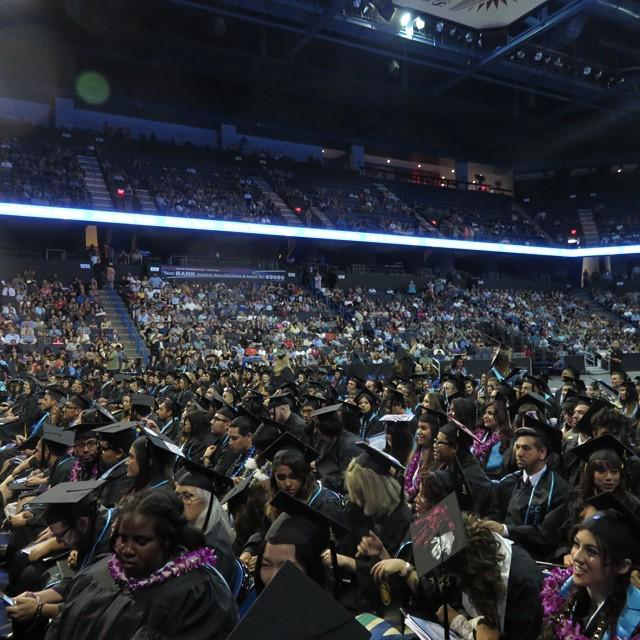 #CSUSBGRAD15 celebrates the California State University Class of 3 million! #CSU3MIL 'The … http://t.co/FUGeXE2Wnm http://t.co/sbWUIviUSL