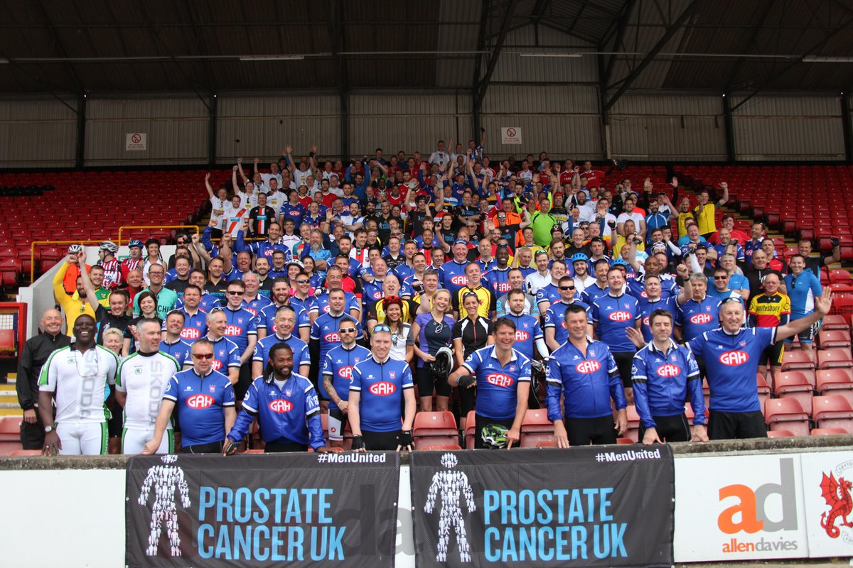 Gillingham FC ride to Europe raising more than £305,000 for @ProstateUK http://t.co/InW266aCdH #L2A #RoarUsOn http://t.co/peEYo1w2rI