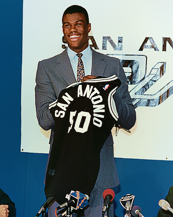 On this date 28 years ago, David Robinson was drafted #1 overall by Spurs. He went on to become a 10x NBA All-Star.
