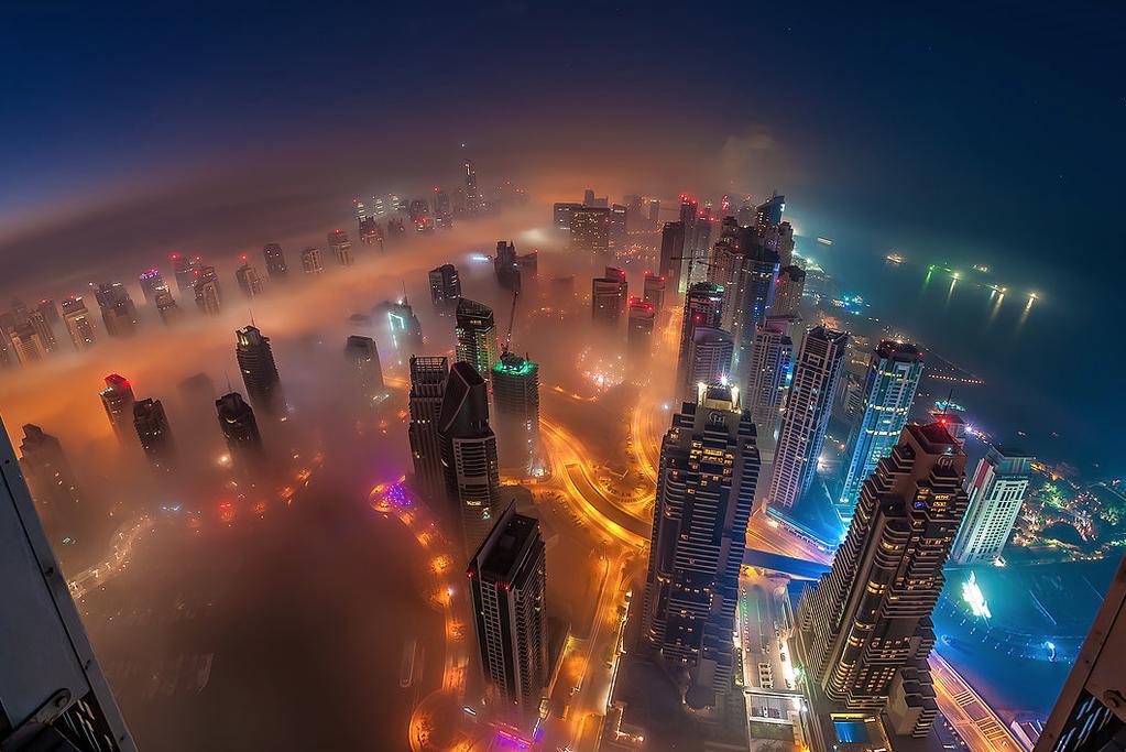 Tanda Akhir Zaman Di Langit Dubai dan Kebenaran Sabda Rasulullah - AnekaNews.net