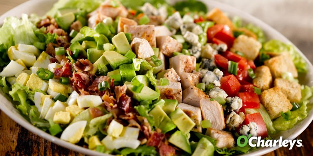 """O'Charley's on Twitter: """"Happy Monday! Our Classic Cobb ..."""