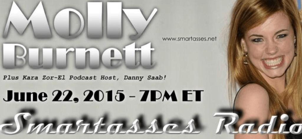 Catch #MollyBurnett @mollydollyy on the @SmartassesNet Podcast@ 7pmET http://t.co/GkQN13asWS Call in: 646-478-5863 http://t.co/00zccyPmGm