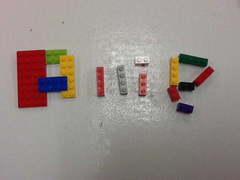 I made my name out of Lego by Allie. #legochallenge1 http://t.co/PvULYtHj2E