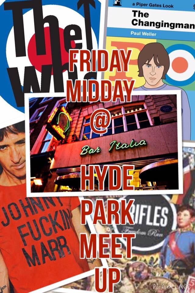 Fancy a livener before @TheWho @paulwellerHQ @Johnny_Marr @theriflesband on Friday? Be @BarItaliaSoho @ Midday! http://t.co/ZRRe3ZQ3Nd
