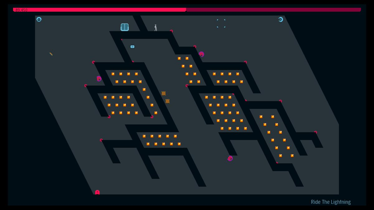 Just published my first N++ level 'Ride The Lightning' @metanetsoftware #PS4share http://t.co/veWx5jpeFg