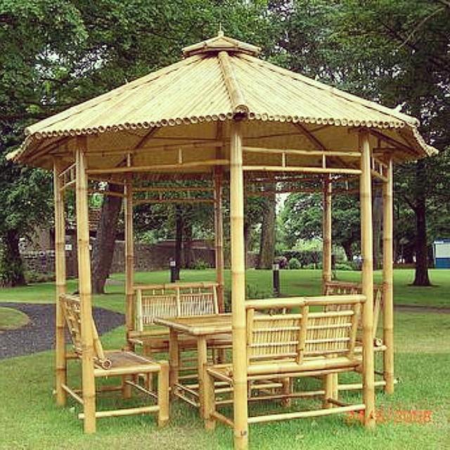 Karya tangan bambu on twitter gazebo order bambu - Cenadores para jardin ...