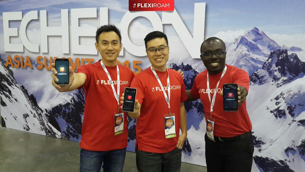 We're excited to launch our new #Flexiroam #app Roam 8.  Come and find us at #S1 booth. #ECAsia2015 #Singapore http://t.co/3sYA4t24rZ