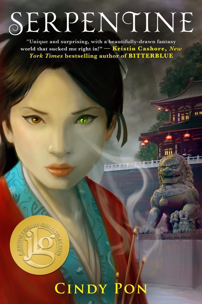 Congrats @Month9Books author @cindypon! SERPENTINE is a @JrLibraryGuild Selection! http://t.co/ixP6ep6vXT