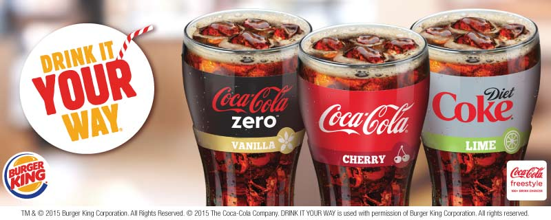 Coca Cola Freestyle On Twitter Whats Your Favorite Coke CCFreestyle Flavor Find Yours At BURGER KING Tco R5oyyu1ATk