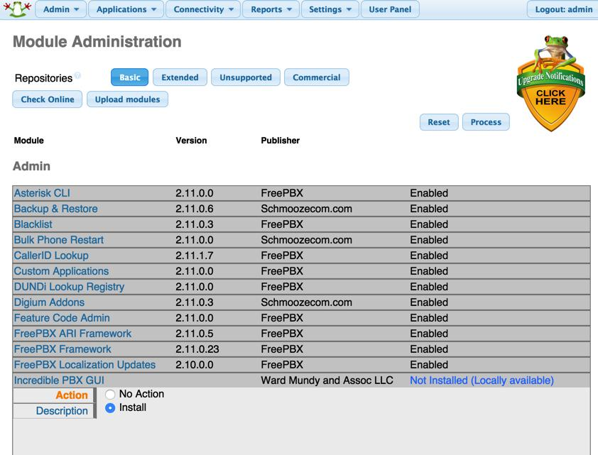 GOOD NEWS - Migrating from FreePBX Distro to Incredible PBX GUI