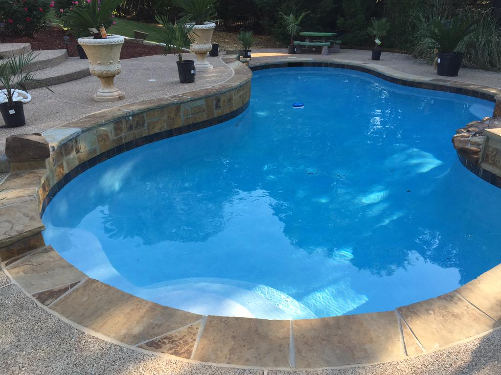 Beautiful Flagstone Pool Coping Pictures