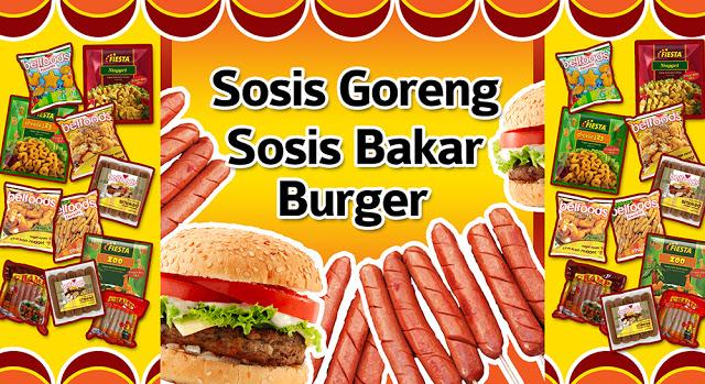24+ Banner Sosis Bakar