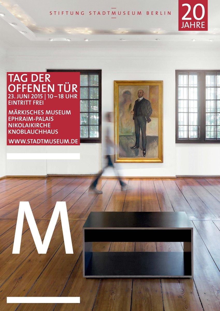 La fondation #Stadtmuseum a 20 ans : 4 musées berlinois ouvrent leurs portes ! http://t.co/TVkZHZhv1y @_WESTBERLIN_ http://t.co/5S0pVp7OA1