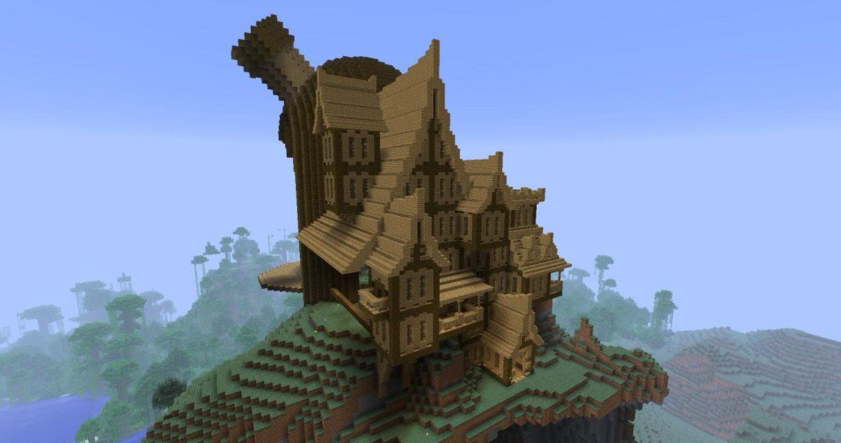 Minecraft Creations On Twitter Some Really Cool House Styles In