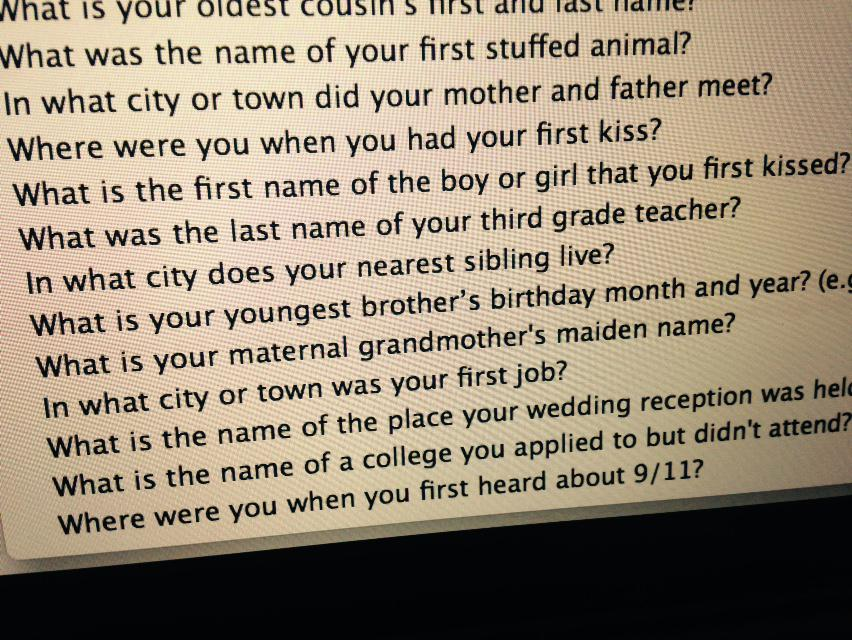 This last security question option from Georgia's Dept of Driver Services is a lot darker than the others. http://t.co/0I3cRYEFKQ