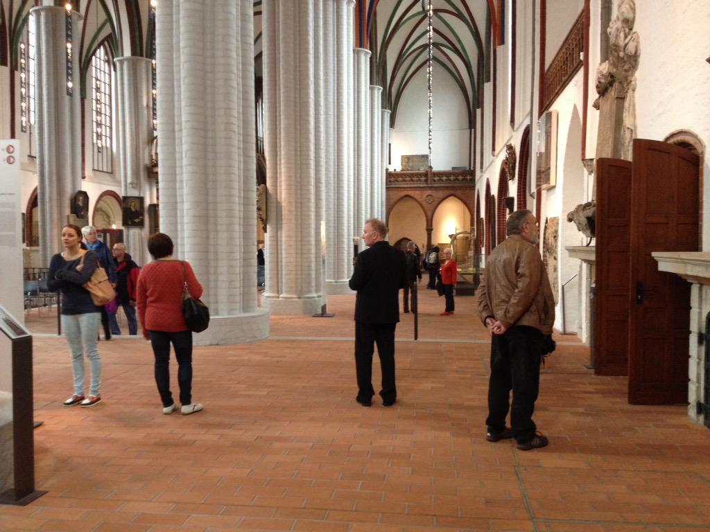 Tag der offenen Tür - auch in der Nikolaikirche #StadtmuseumBerlin http://t.co/tiE9U9j5Fi via @_WESTBERLIN_