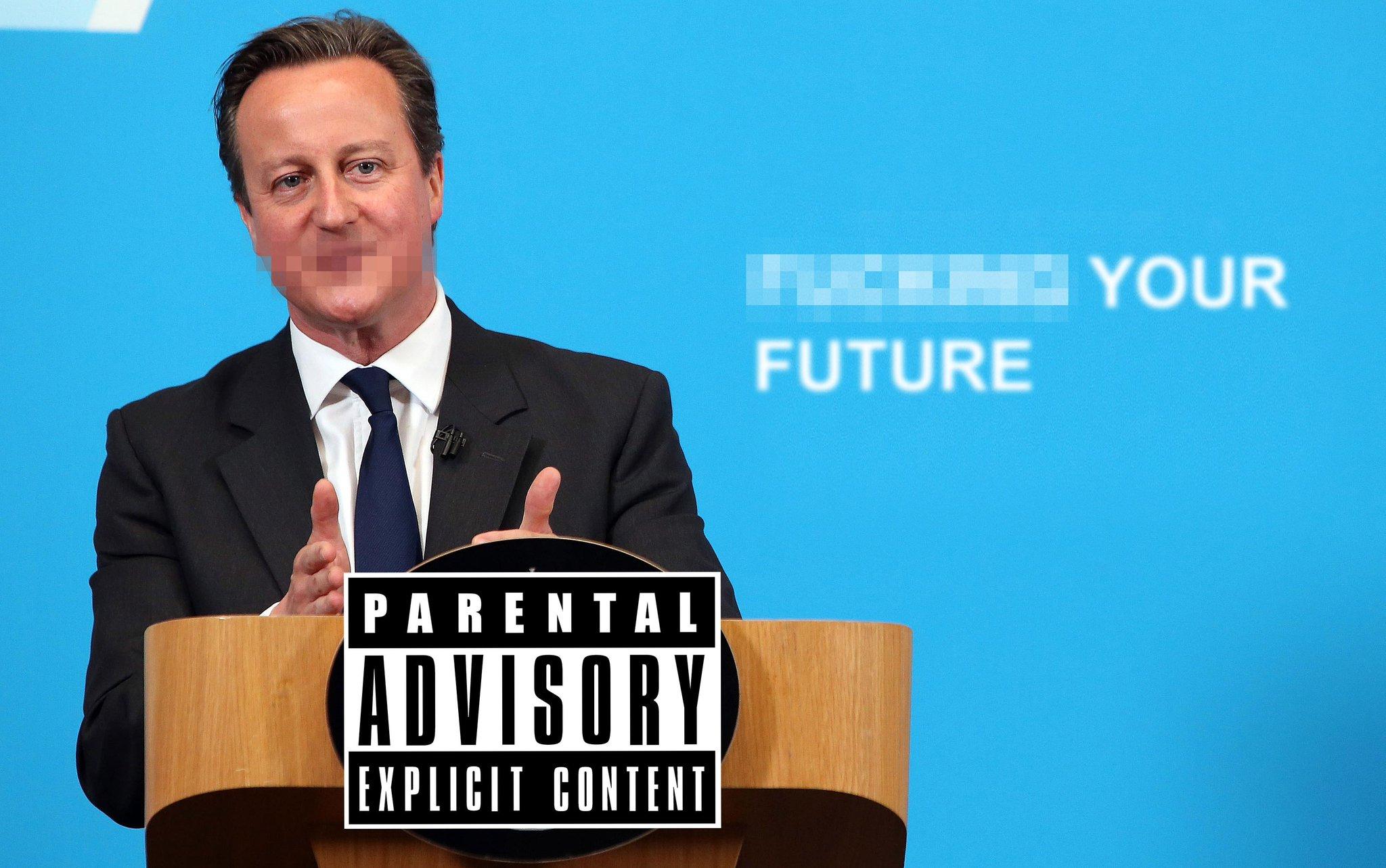 David Cameron: the censored version. (done for @HuffPostUKCom) http://t.co/mpXkCnImXX http://t.co/M9nw0dZHKY