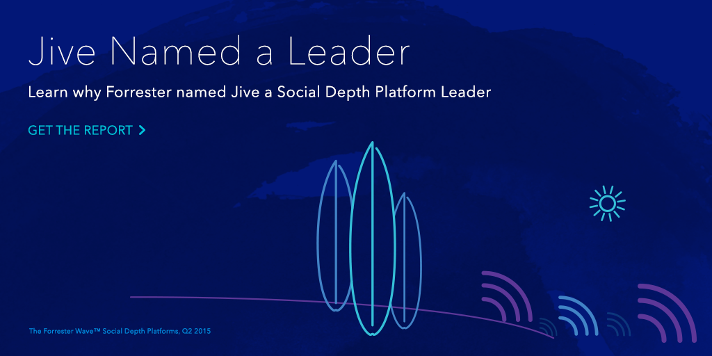 Jive is a Leader! Just released: The #ForresterWave on Social Depth Platforms. Get the report: http://t.co/wSCLS66ipd http://t.co/gFWiMstUM1