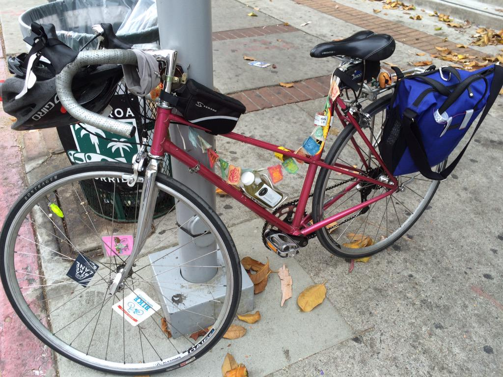 have you seen me? i was #stolen sunday night from a @metrolosangeles bus bike rack in #skidrow #dtla #bike #bikela http://t.co/WOwXhDawGX