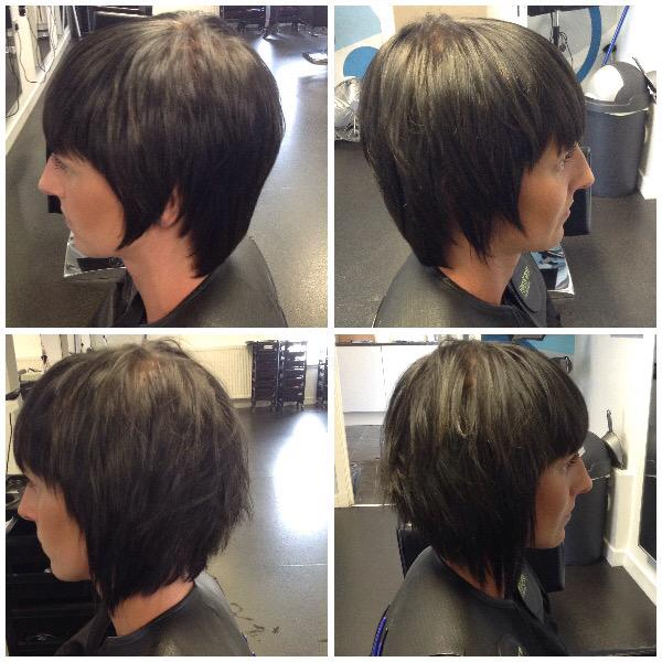Jch Hairdressing On Twitter Before And After Rapturehair Just In
