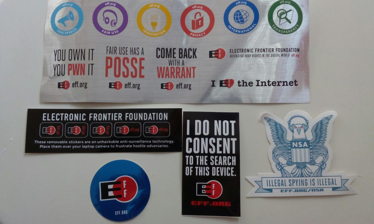 david pello on twitter my eff sticker pack awesome