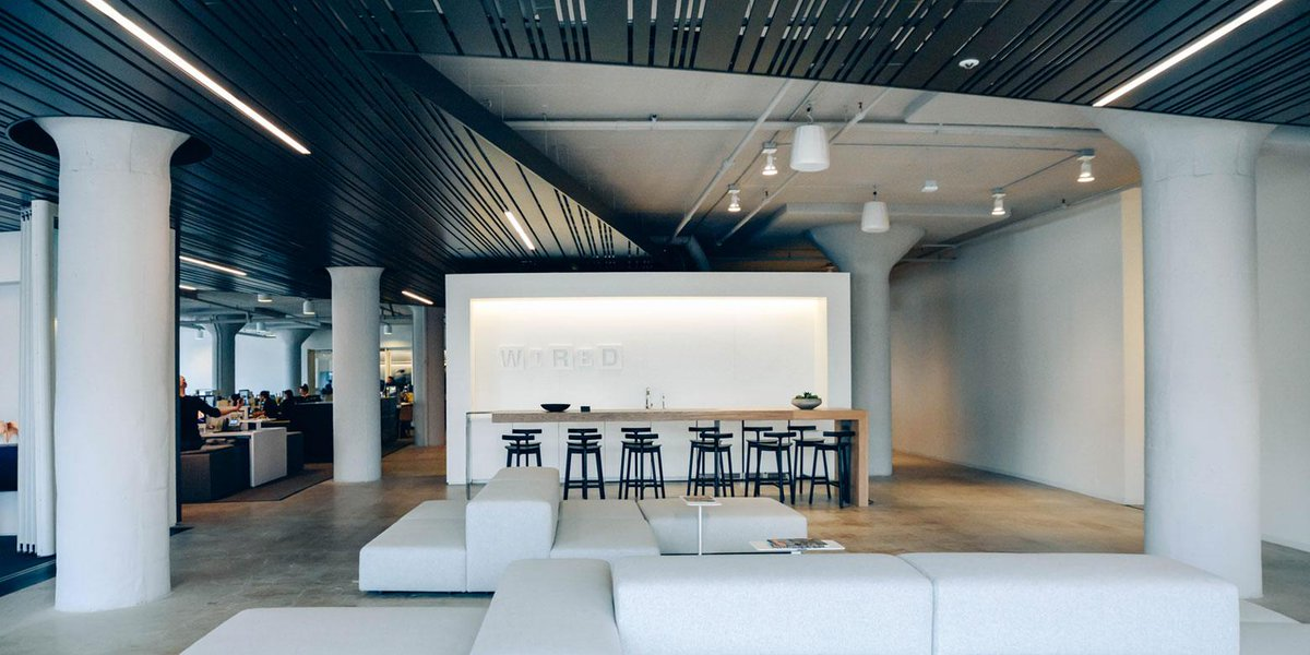 We toured @WIRED 's incredible, newly renovated SF HQ with their EIC @sdadich: http://t.co/tmES1Ift0V http://t.co/gs39PbDdTa