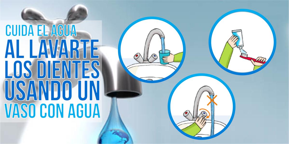 Sedapal on twitter cuida el agua al lavarte los dientes for Cosas para ahorrar agua