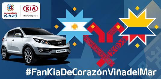 ¡4° FINAL EN VIÑA! Gana entradas #Arg #Col. RT o comenta con #FanKiaDeCorazónViñaDelMar y participa. #YoSoyBarraKia http://t.co/7ctlmLs8mk