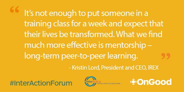 #InterActionForum On the subject of #education and creating economic opportunities for global youth: http://t.co/BQcnWWXmit