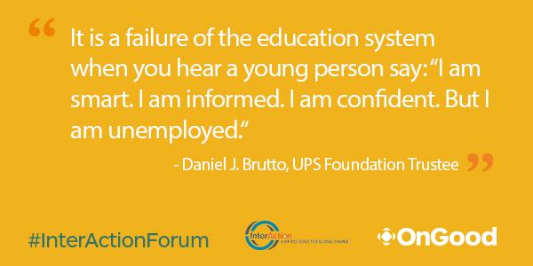 #InterActionForum In reference to an education system that is not preparing #youth for a competitive global economy: http://t.co/9sYoQJrDoc
