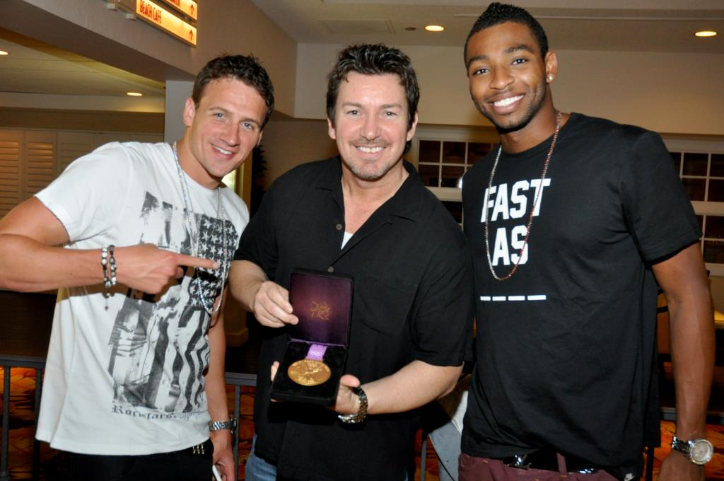 On #OlympicDay vry proud of my #Olympian friends @RyanLochte and @CullenJones - thx 4 this memory! http://t.co/ZcnkXLorem