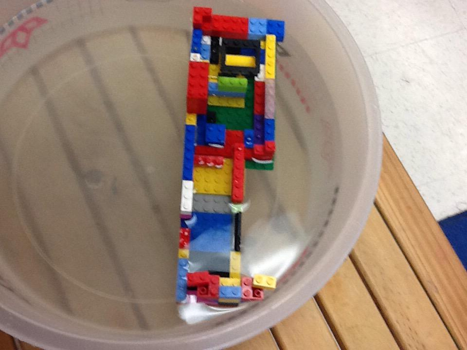 We made our boat float. By Allie and Elyzsa #legochallenge2 http://t.co/ec94gL4OFo