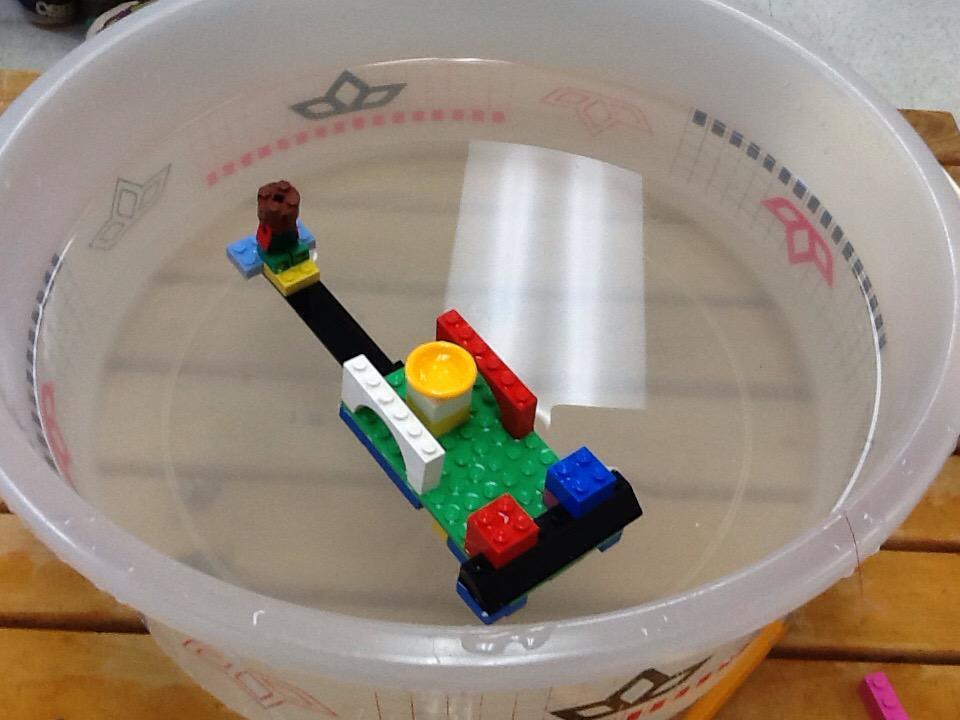 We ad e boats out of lego and mine floated #legochallenge2 by Matthew http://t.co/yoZAJ51cXS