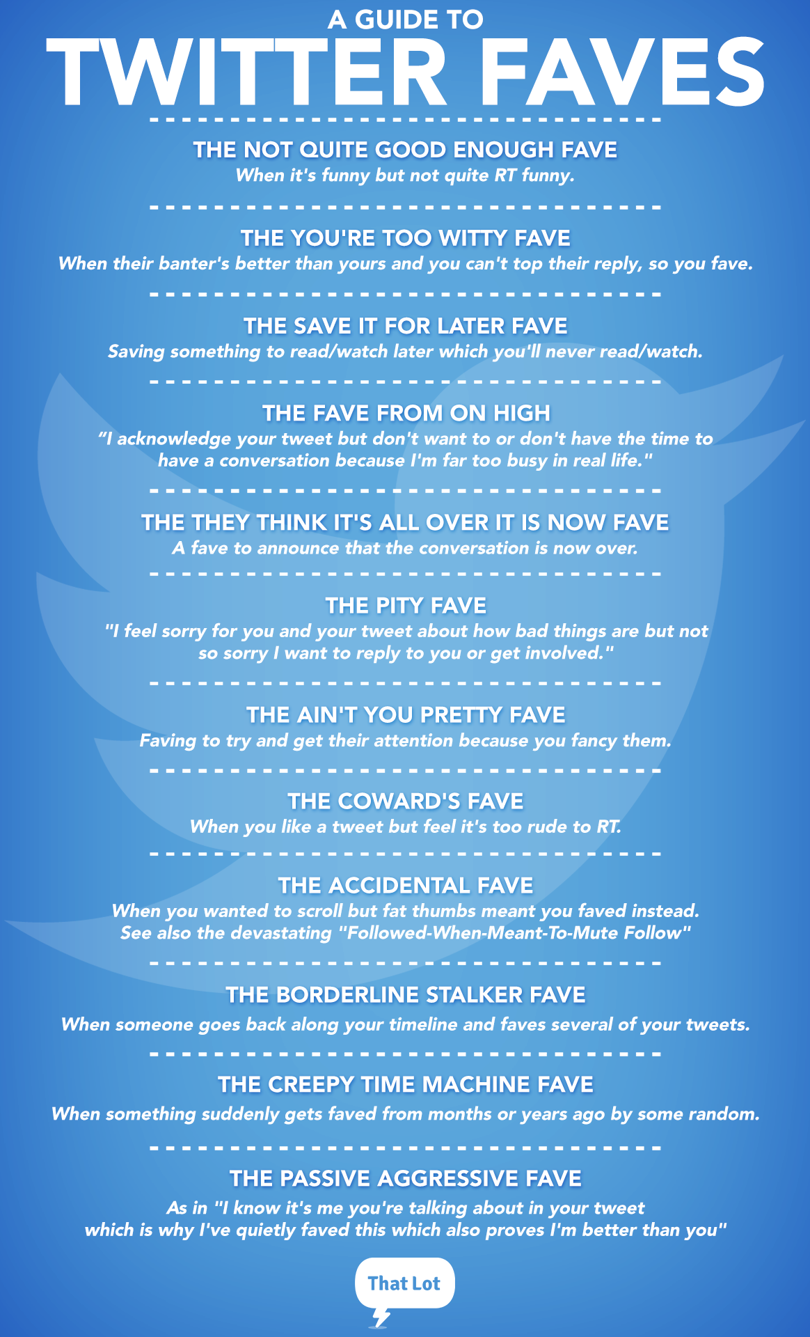 RT @thatlot: Favouriting on Twitter: the definitive* guide. http://t.co/ka6NEvFZXj  *may not be definitive http://t.co/vcK2Jxq4mQ
