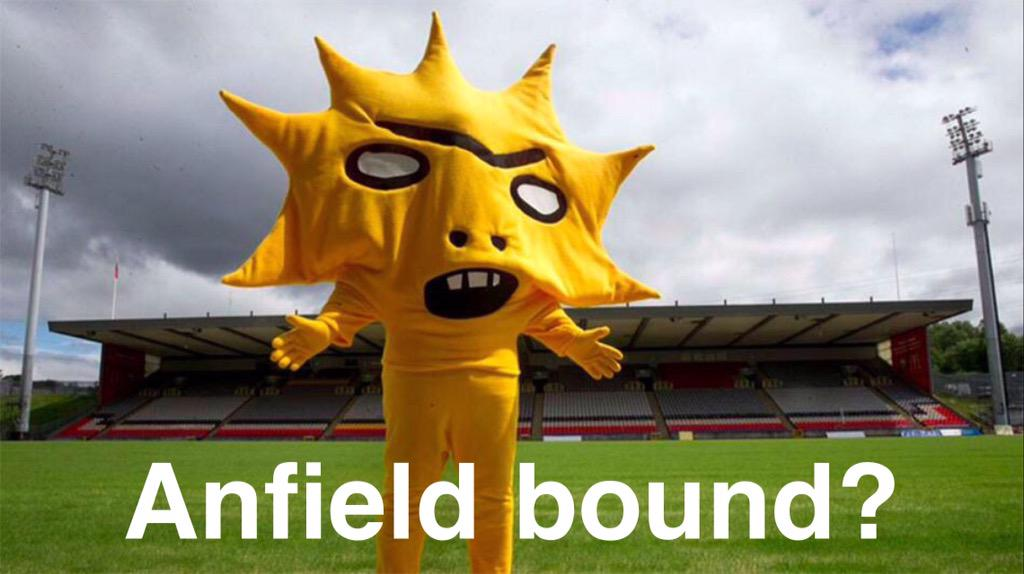 After signing Firmino for £29m, Liverpool bid £45m for Partick Thistle mascot. http://t.co/en8cH7uNK8