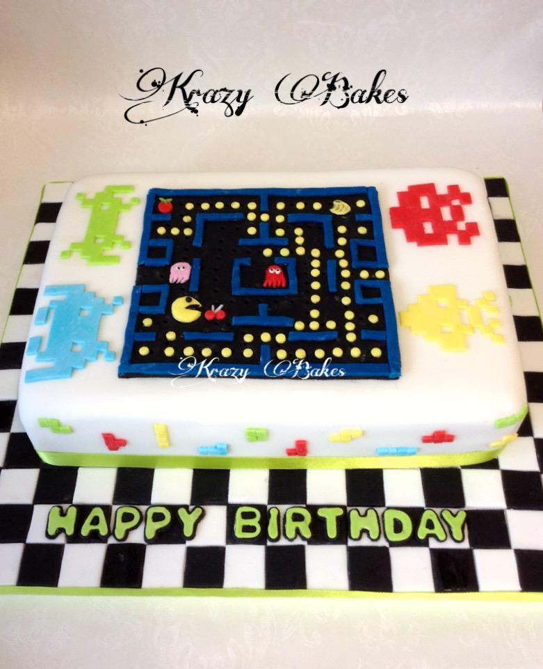 Krazy Bakes KrazyBakes Twitter - Tetris birthday cake