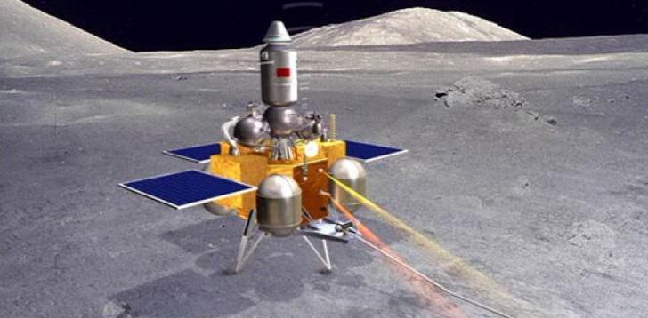 Missione CIna Chang'e-5 sul Luna.