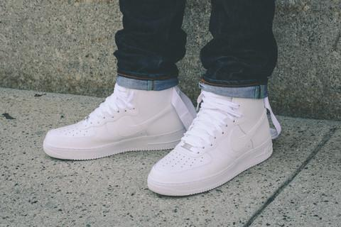 info for b5e84 85201 ... Air Force 1 Mid White On Feet - YouTube 6 35 PM - 23 Jun 2015 ...