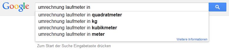 kubikmeter in quadratmeter umrechnen