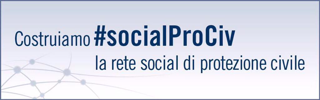 Consultazione sui documenti fondativi della rete #socialProCiv