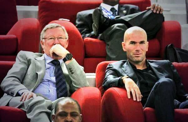 Image result for ferguson and zidane