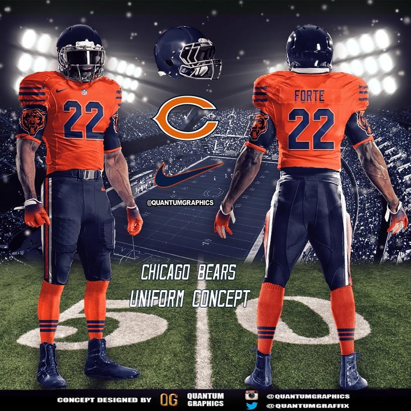 sneakers for cheap f438b 71f1b chicago bears jersey orange