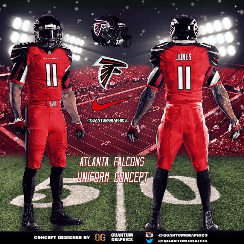 promo code ff99f 1bfcd atlanta falcons concept jersey