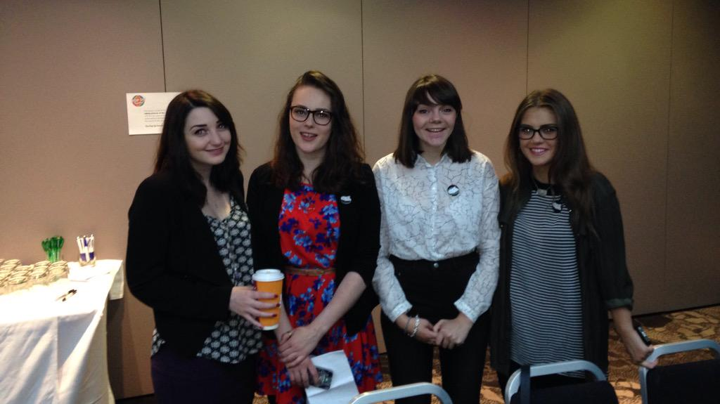 This is the excellent @djcad student team supporting our event today! http://t.co/nUHDpaxDfW