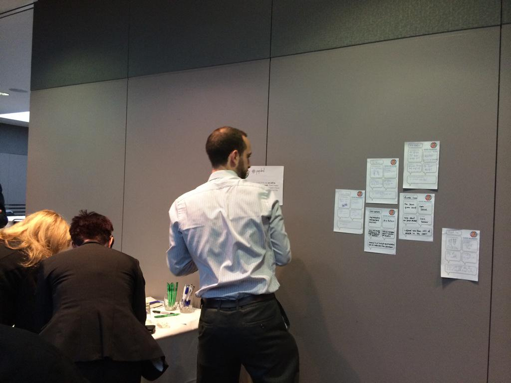 Profile wall starting to fill up exciting things ahead today! #popdnd http://t.co/rE1juGwmWc